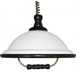 Lampa Akrylowa WLA-02/D BIAŁA+WENGE